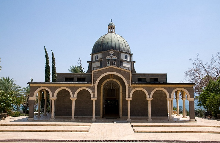 Roman Catholic chapel at Mount of Beatitudes
