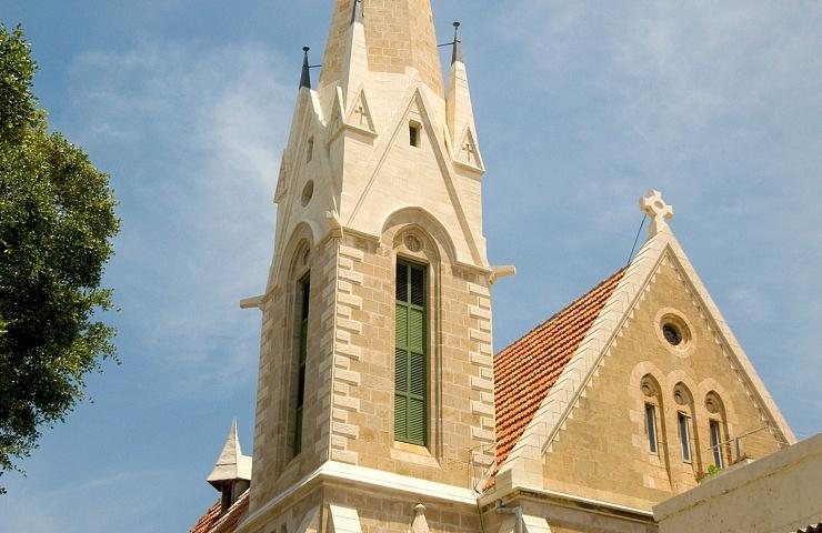 The Immanuel Lutheran Church in Jaffa