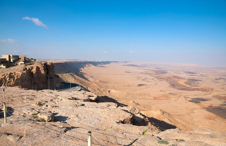 The Ramon Crater view