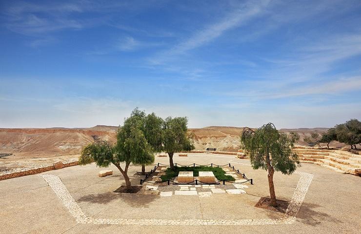 Kibbutz Sde Boker in the Negev